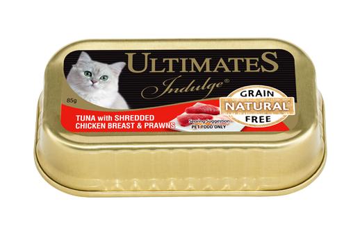 Tuna with Shredded Chicken Breast & Prawns