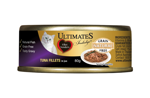 Tuna Fillets in jus